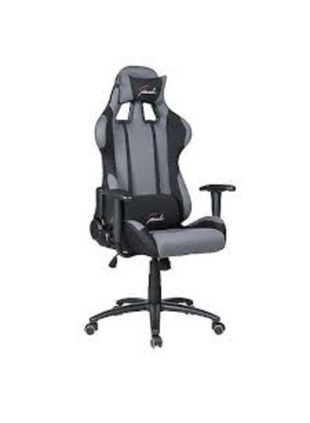 Bureau stoel Strike zwart-grijs racing speed kort gebruikt