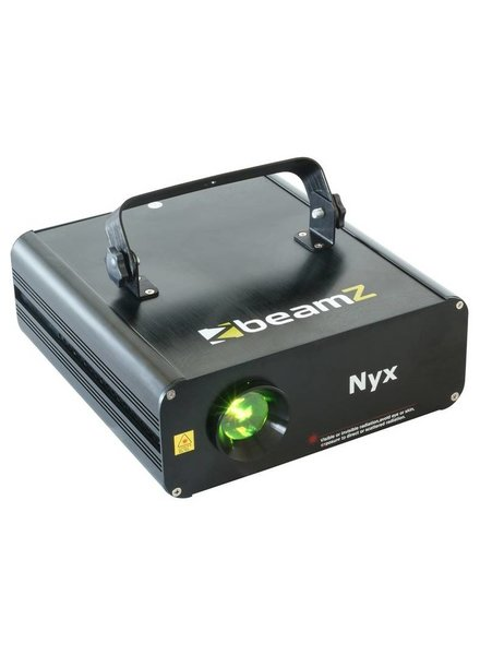 Beamz Nyx Animatie Laser R/G DMX ILDA winkel model
