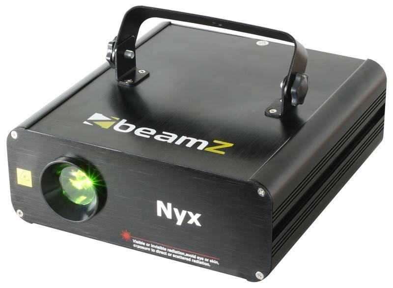 Beamz Nyx> Animation Laser R / G 12-Kanal-DMX ILDA winkelmodel