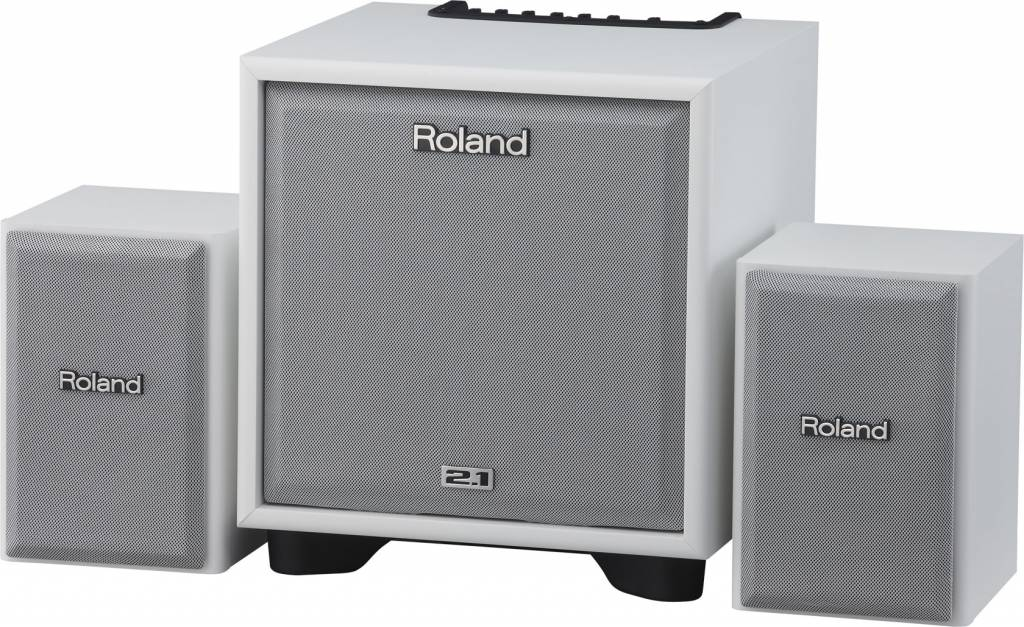 Roland CM-110 CUBE Monitor 2.1-System - Weiß B Lager