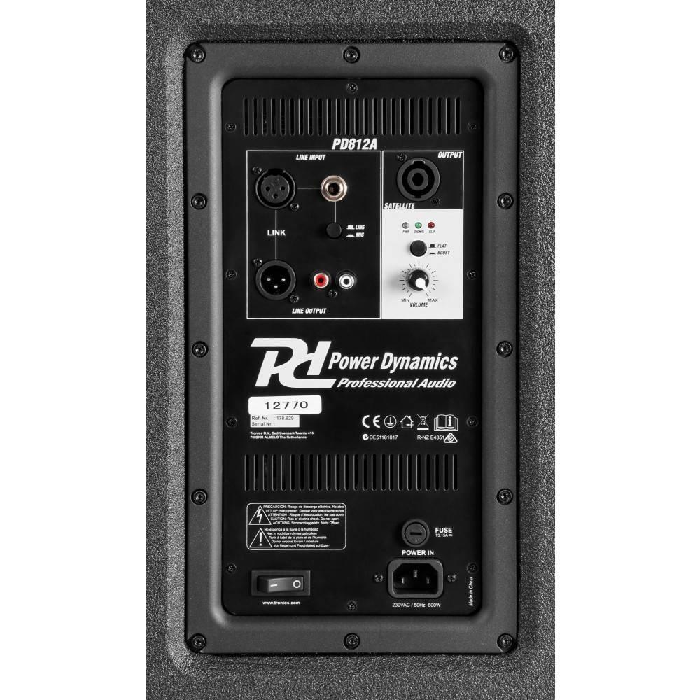 PD Power Dynamics PD812A Portable 12'' Array Systeem