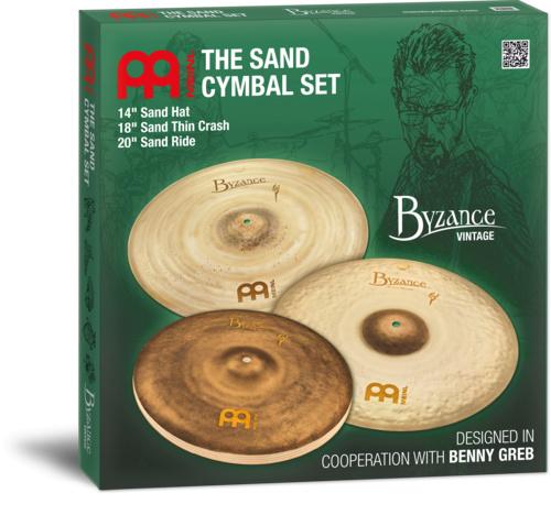 Meinl Byzance Sand Set Benny Greb