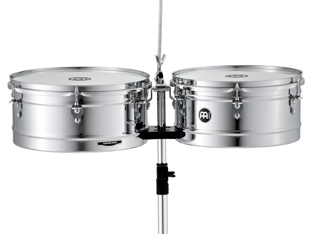 Meinl HT1314CH 13 '' / 14 '' TIMBALES CHROME FINISH
