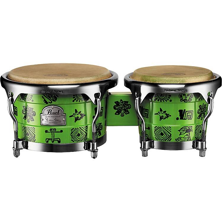 Pearl PPW 300DXRF BONGO RITCHIE SIGNATURE FLORES GREEN STORE MODELL