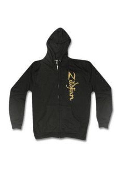 Zildjian KTZIT4615 Zip hoodie, vertical logo, XXL, black