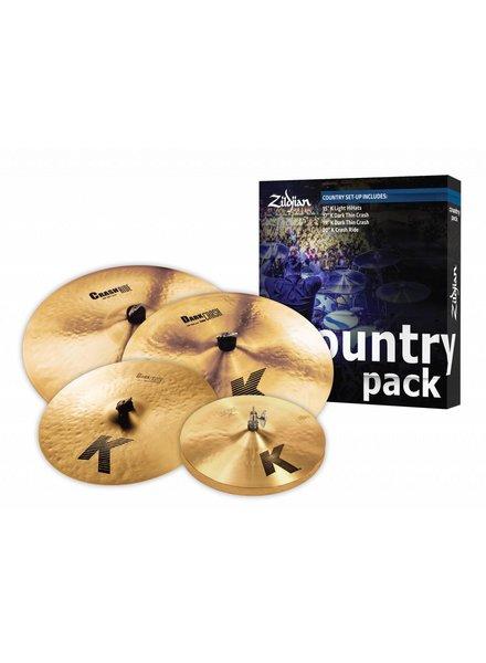 Zildjian Bekkenset, K Zildjian Country Pack