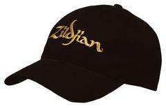 Zildjian  Baseballmütze, schwarz mit Gold-Logo KTZIT3200