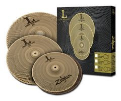 Zildjian LV468 Low Volume 468 Series Box Set ZILV468 14hh 16Cr 18ride