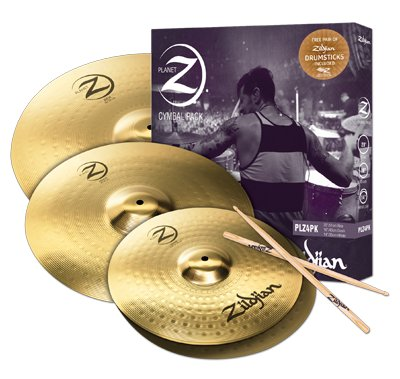 Zildjian  Planet Z-Serie 4-Stück 14-16-20 ZIPLZ4PK