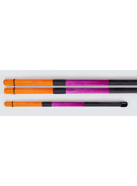 QPercussion QSticks rods Conversation orange purple