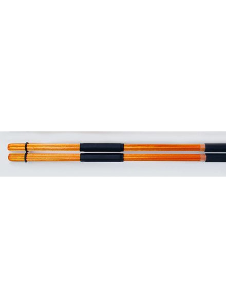 QPercussion QSticks rods Whisper Orange coloured