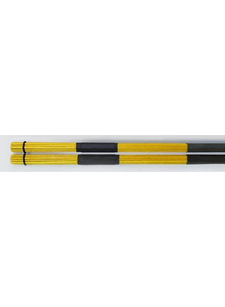 QPercussion QSticks rods Whisper Orange Colored yellow 55A