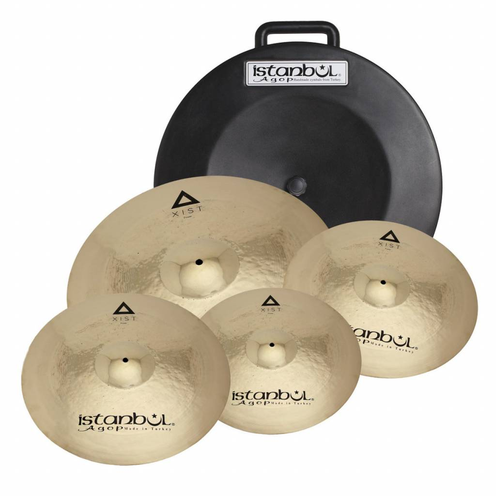 Istanbul Agop Agop Xist Leistung Cymbal Set Pro IXPWS4