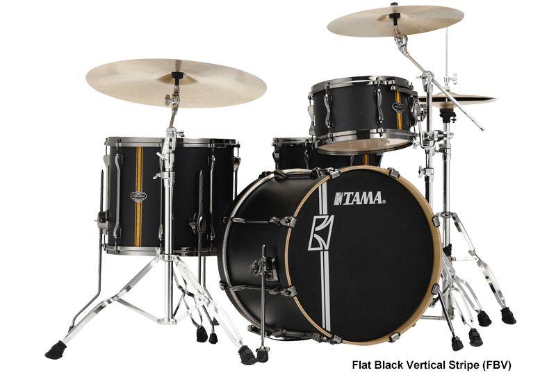 Tama ML40HZBN2-FBV Superstar HD Duo Snare Flat Black shellset