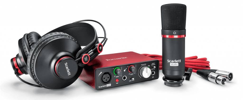 Focusrite RFO Scarlett2 Solo Studio pack (2nd Gen) Pack