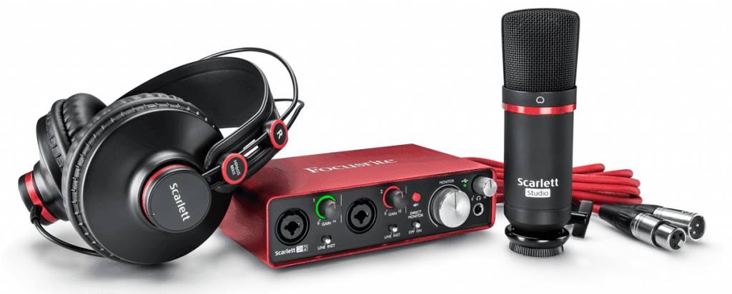 Focusrite RFO Scarlett2 2i2 Studio Pack MKII