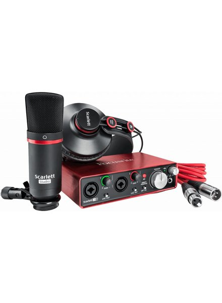 Focusrite RFO Scar­lett 2i2 Studio Pack 2nd MKII