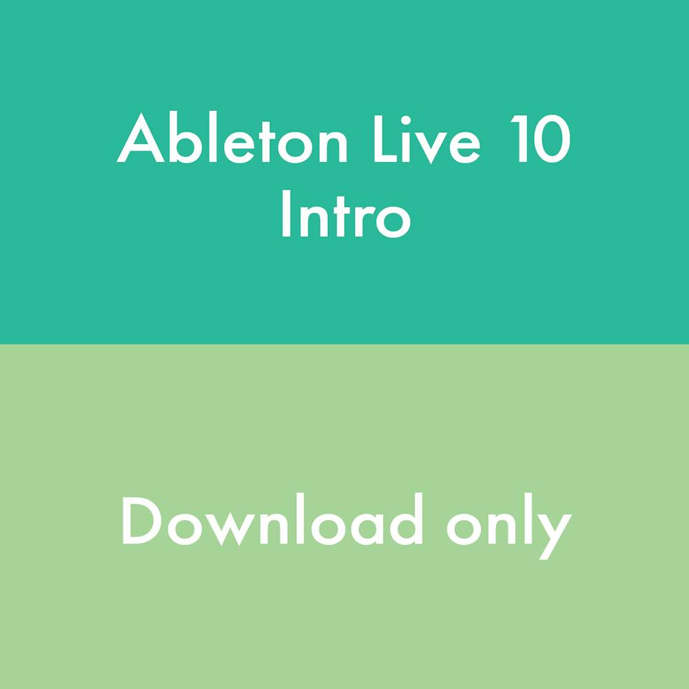 Ableton LIVE 10 INTRO 88183 download
