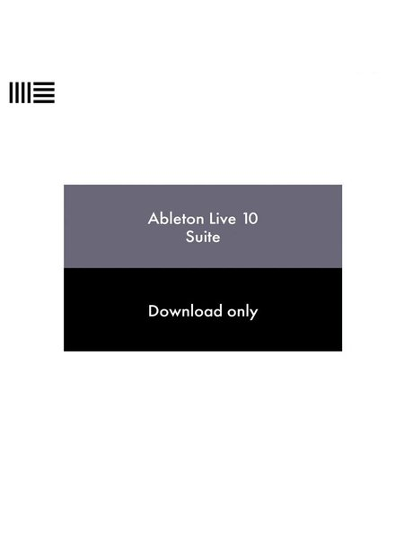 Ableton LIVE 10 SUITE EDU download 88177