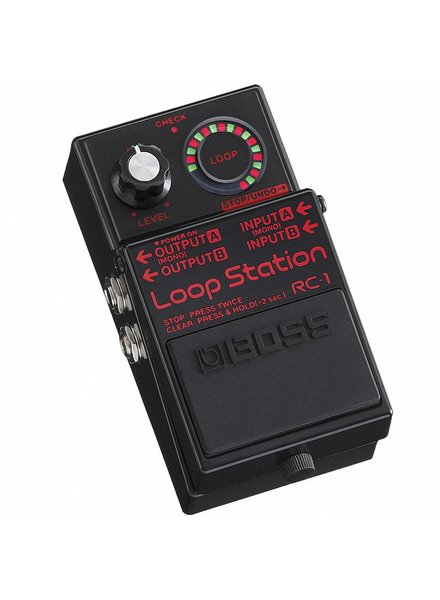 Boss Boss RC-1 BK Loop Station