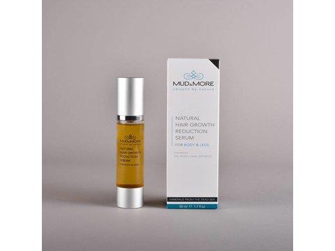 Natuurlijke haargroei vertraging serum voor het lichaam en benen