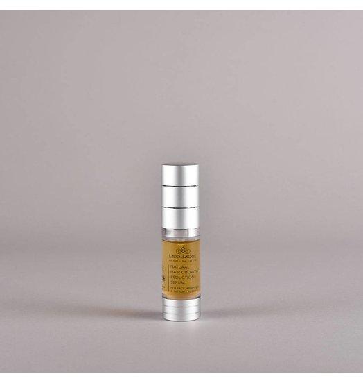 Natuurlijke haargroei vertraging serum voor het gezicht