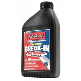 Edelbrock SAE 30 Break in Oil