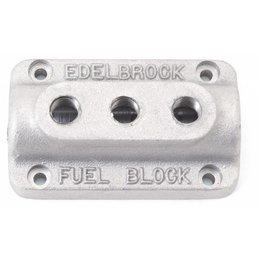 Edelbrock Brandstofverdeelblok, Triple-Carburateur