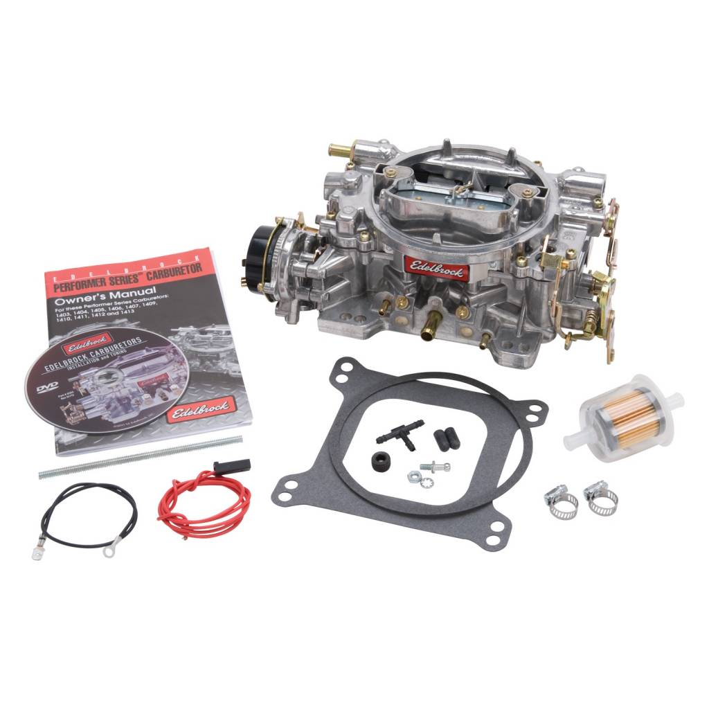 Electric Supercharger Cfm: Edelbrock 14064 Carburetor