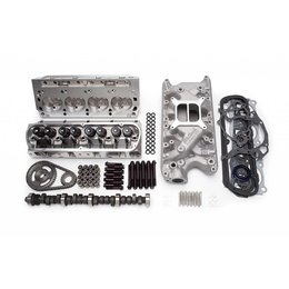 Edelbrock E-Street Top End Kit, Small Block Ford, 321HP