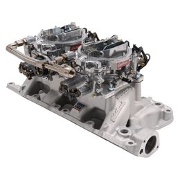 Edelbrock Dual Quad Kit. RPM Air-Gap. 289-302 Ford