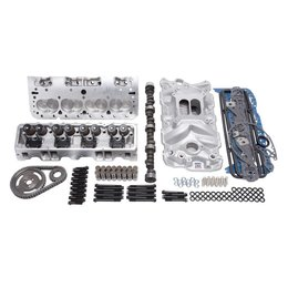 Edelbrock 338 HP E-Street Top End Kit, Small Block Chevy with EFI