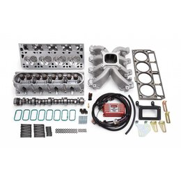 Edelbrock Power Package Top End Kit, Victor Jr.  Series, Chevrolet, 1997-2004, 5.7L LS1, without Timing Control Module