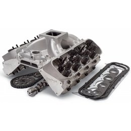 Edelbrock Performer Top End Kit, Small Block Chevy, 363HP
