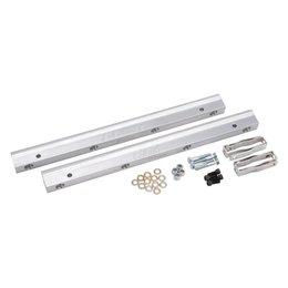 Edelbrock Fuel Rail Kit: For S/B Ford Super Victor EFI mani PN 29245 & 29285.