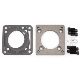 Edelbrock Adapter  Plate for the Universal Sport compact Throttle Body for Honda 70mm dual pattern for Ford and Honda