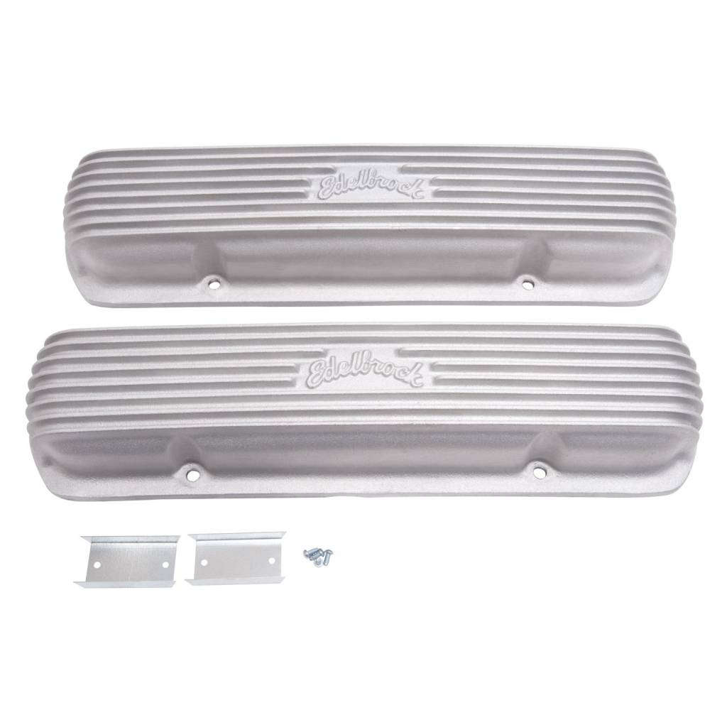 Supercharger Kits For Pontiac 455: Edelbrock 41309 Valve Covers