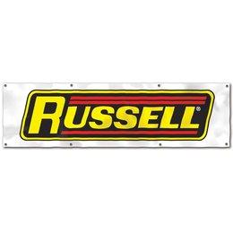 """Edelbrock BANNER, RUSSELL 99"""" X 28"""""""