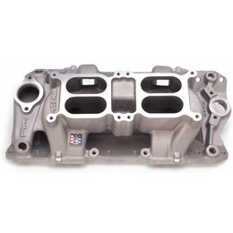 Edelbrock RPM Air-Gap Dual-Quad Manifold, Chevrolet Small Block