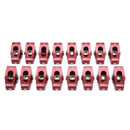 "Edelbrock Red Roller Rocker Arms, Chevrolet Small Block, 3/8"", 1.5:1 Ratio ( Wide Body)"