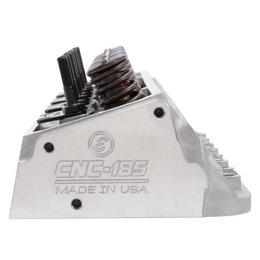 Edelbrock Cylinder Head, SBC, E-CNC 185, 64cc, Straight Plug, For Hydraulic Roller Cam, Complete
