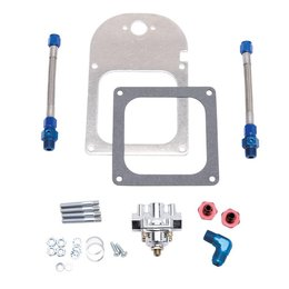 Edelbrock Fuel Pressure Regulator Kit, Dual outlet, 4500 Flange
