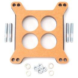 Edelbrock Spacer Carburetor, Four-Hole, 0.5 Inch