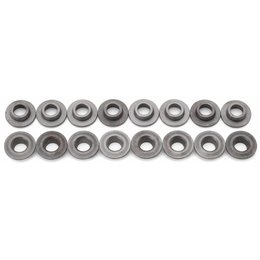 Edelbrock Valve Spring Retainers, Steel, Set of 16