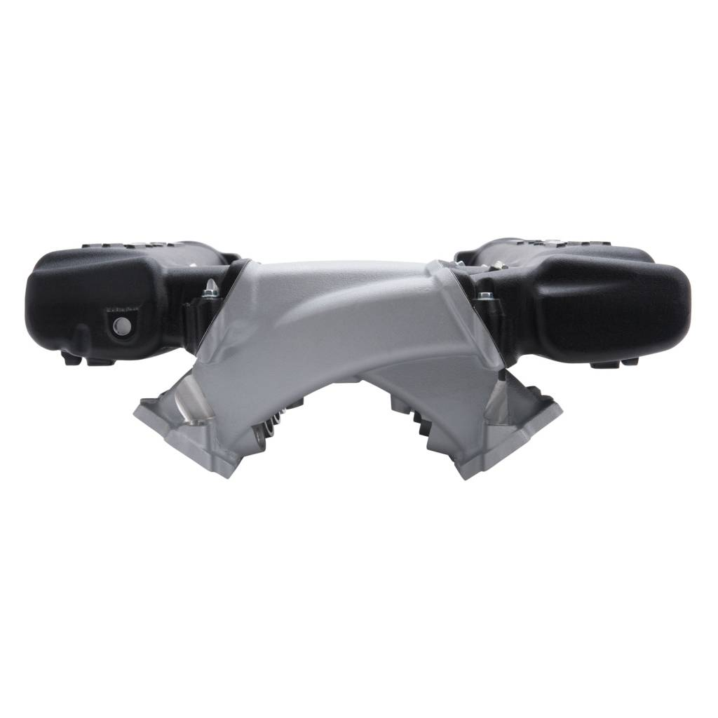 Manifold, Chevy LS, LS3 Cross Ram With Black Plenums