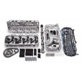 Edelbrock Power Package Top End Kit, Victor Series, Chevrolet, 95 & Later Mark VI, 496-555 c.i.d big block V8, Rectangle Port, 675HP+