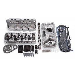 Edelbrock Power Package Top End Kit, RPM Series, Ford, 81-Earlier, 331-363 c.i.d small block V8, 440HP+