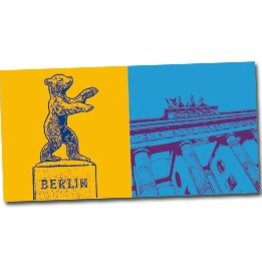 ART-DOMINO® by SABINE WELZ POSTKARTE BERLIN - 27