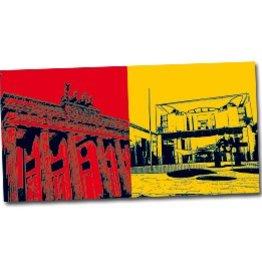 ART-DOMINO® by SABINE WELZ POSTKARTE BERLIN - 12