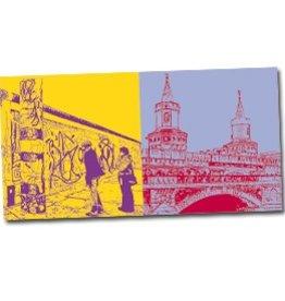 ART-DOMINO® by SABINE WELZ POSTKARTE BERLIN - 09